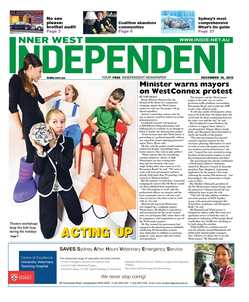 Independent cover December 19