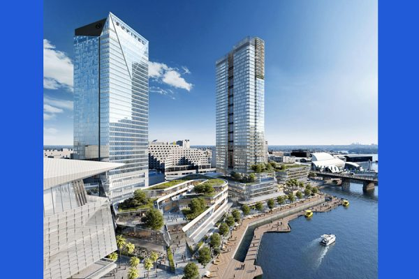Mirvac throwing shade on Darling Harbour developments