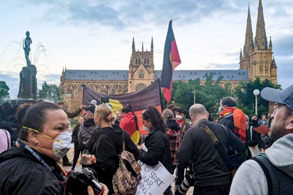 Hundreds attend Sydney's 'Black Lives Matter' march