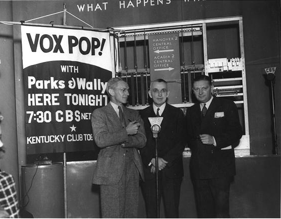 NAKED CITY: DEATH OF THE VOX POP!