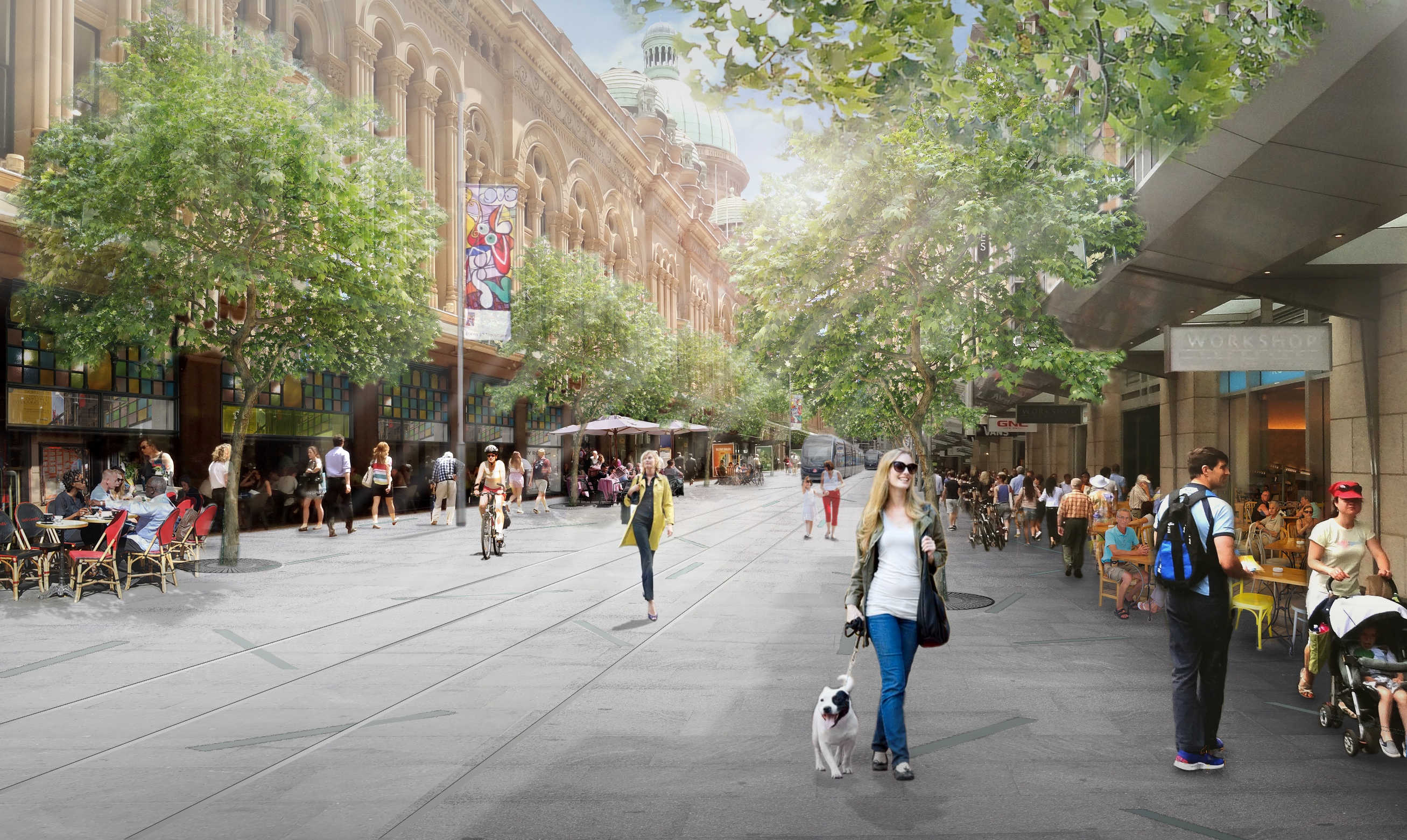 """George St to be """"reimagined"""""""