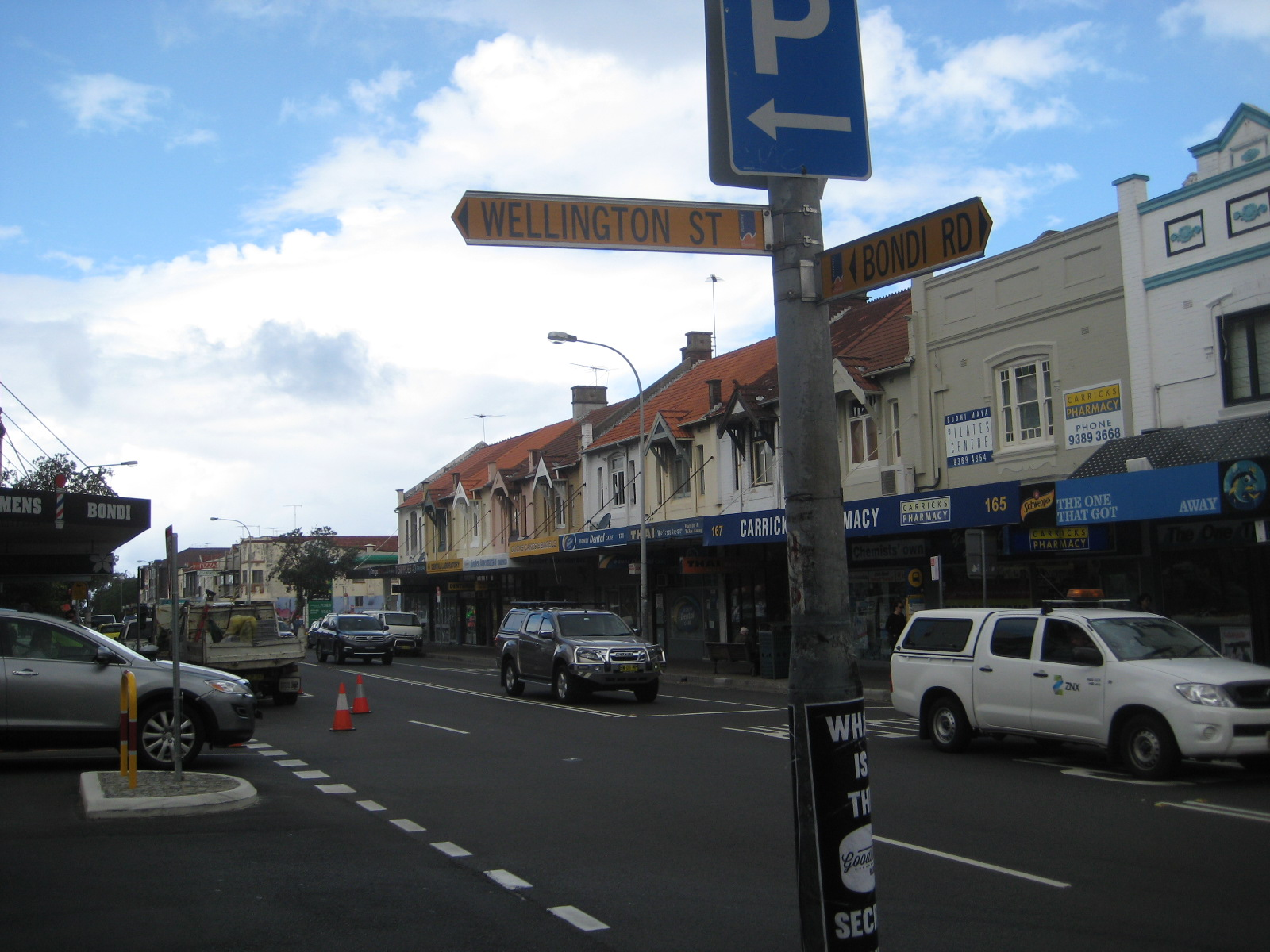Pedestrians a priority at Wellington Street