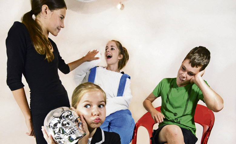 Kids acting out? Get them acting