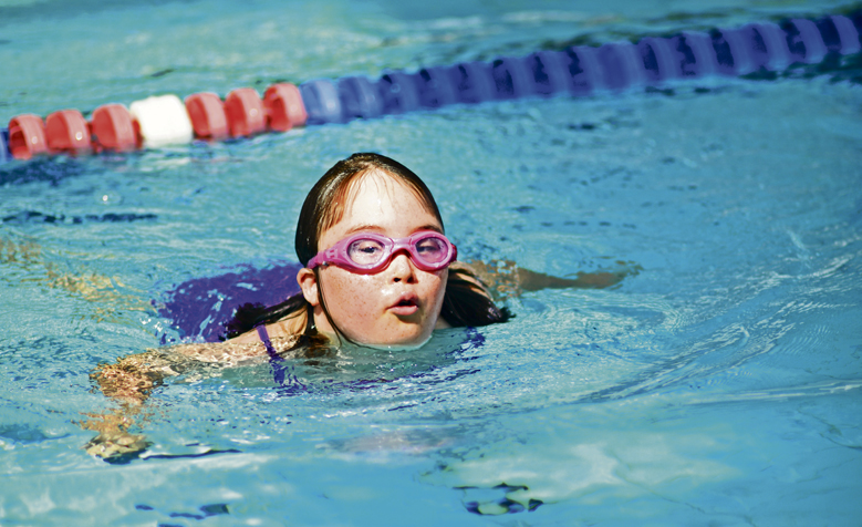 Swimming for special needs