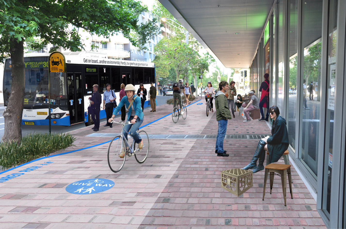 New bike lane to complete link