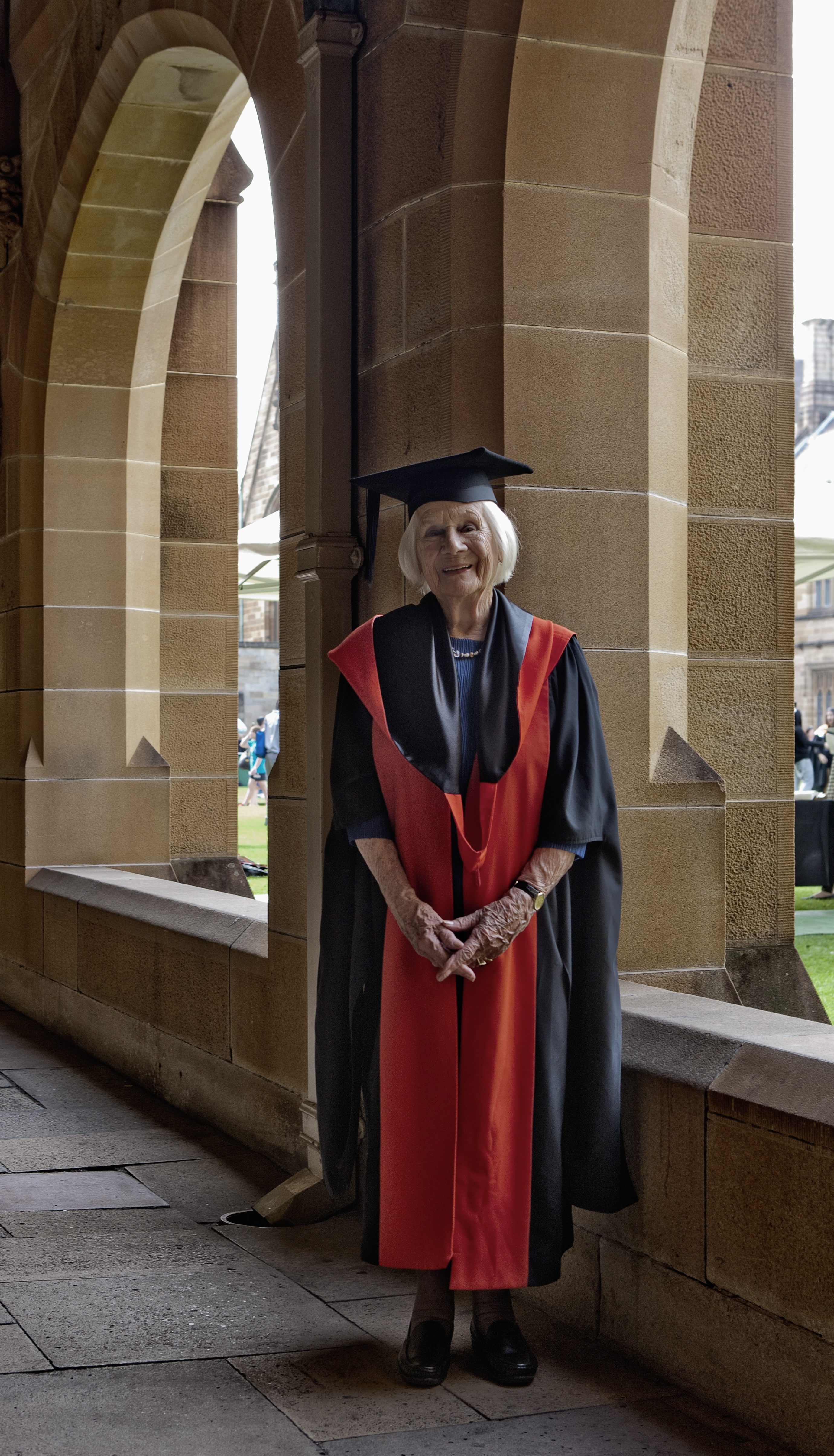 From politics to a PhD: Australia's oldest university graduate