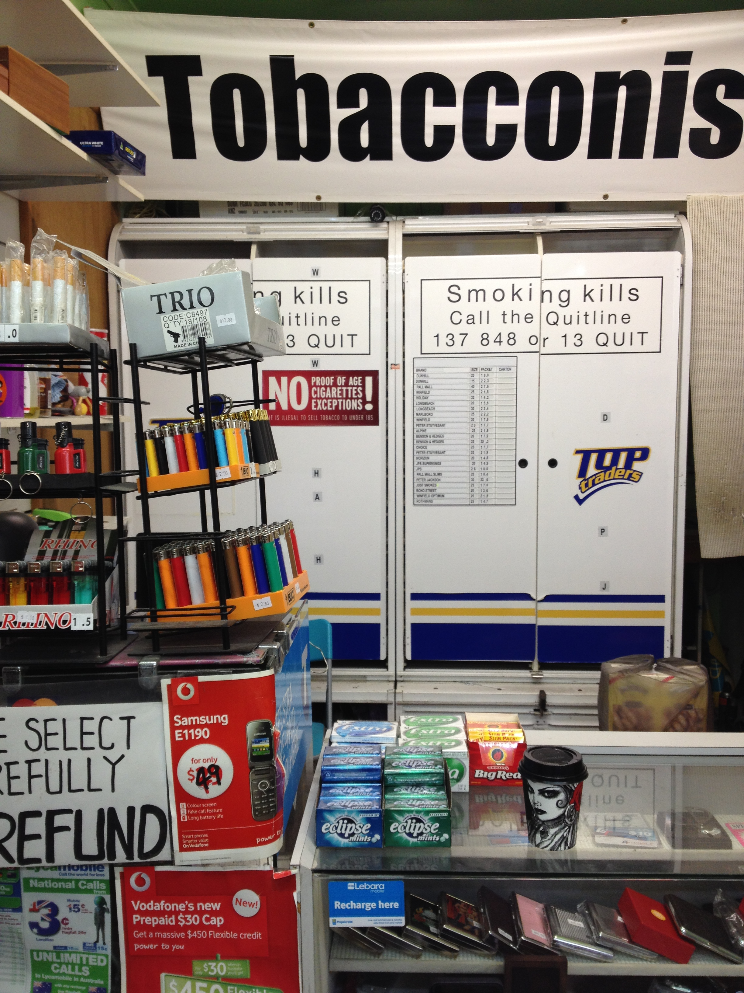 Impact of plain packaging questionable in Sydney's inner city