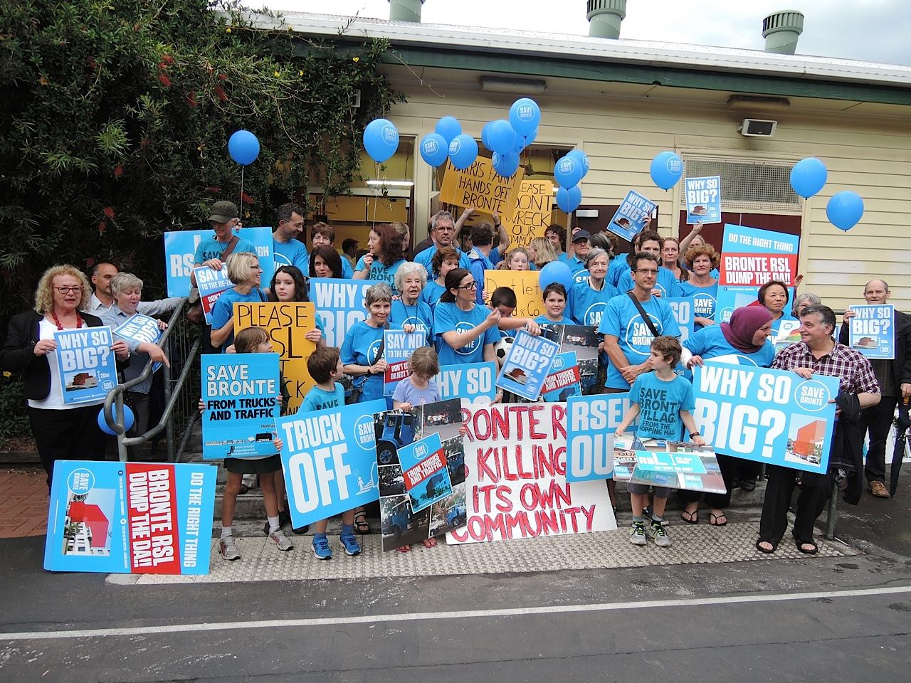 Bronte fights against overdevelopment of RSL