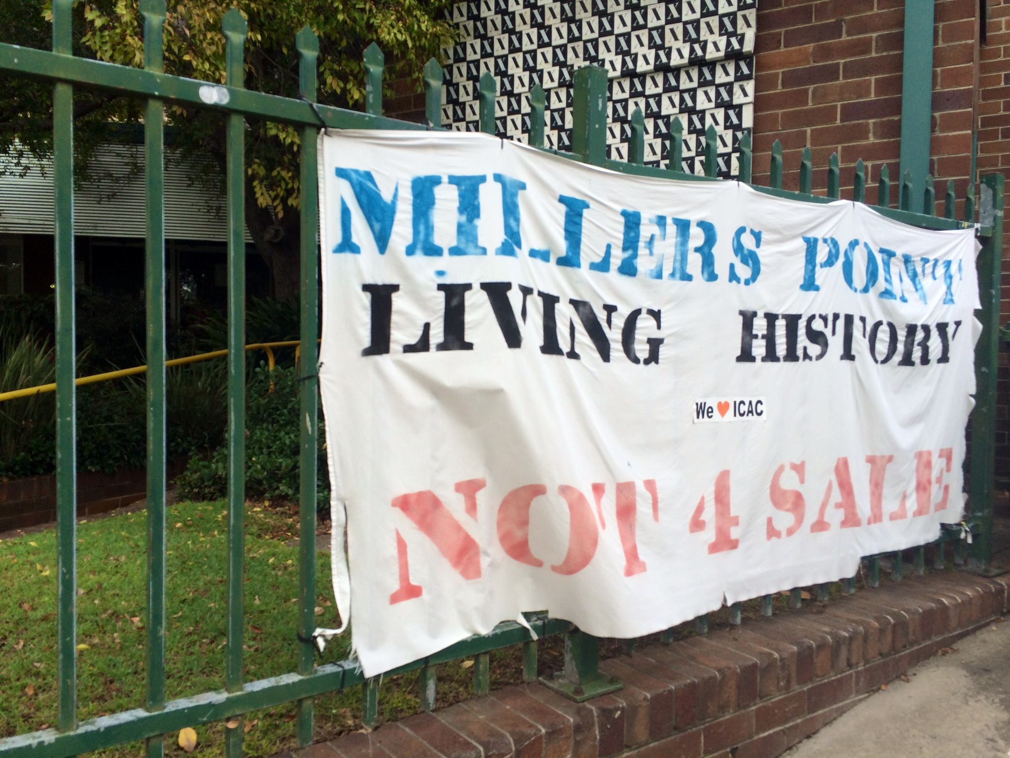 Final residents fight on at Millers Point
