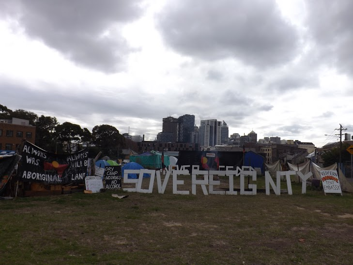 One year on and the Redfern Aboriginal Tent Embassy continues to fight