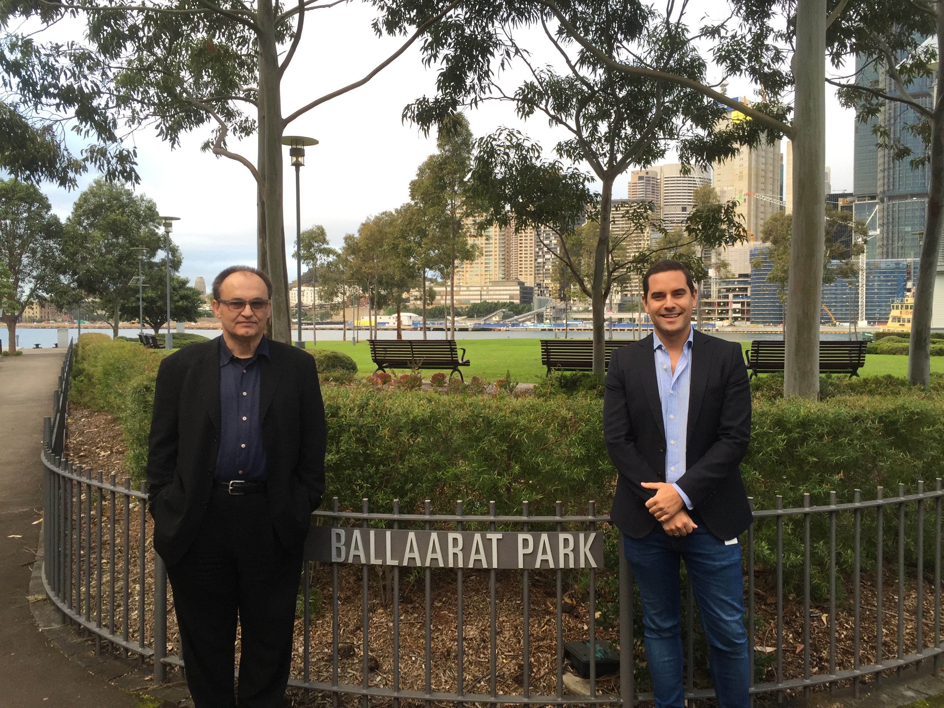 Greenwich puts Ballaarat Park on government's agenda