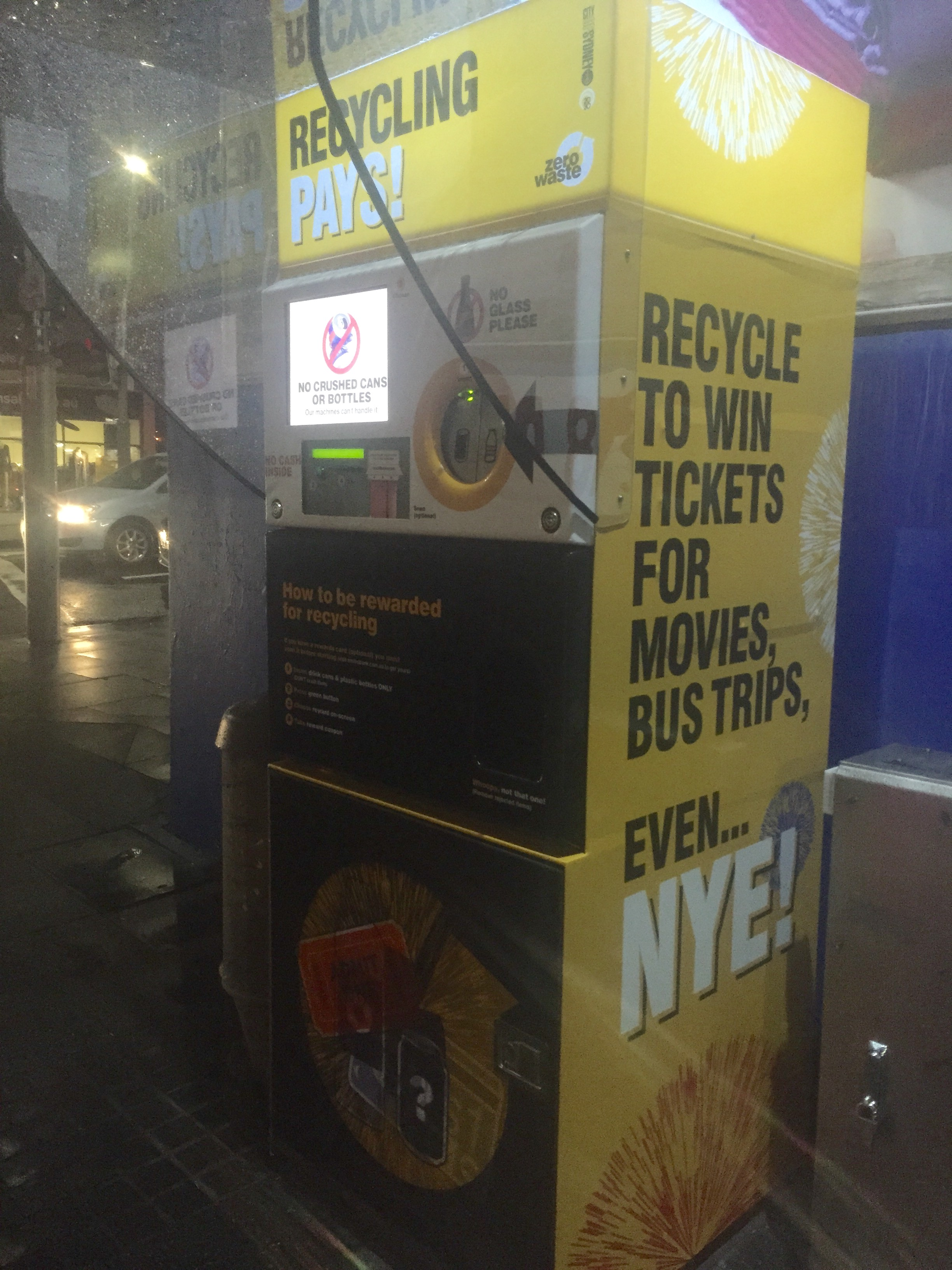 Recycling rewards Sydneysiders