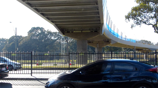 'Dinky little bridge' costing a fortune