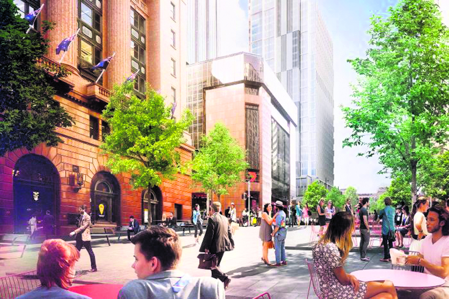 Martin Place to receive French facelift