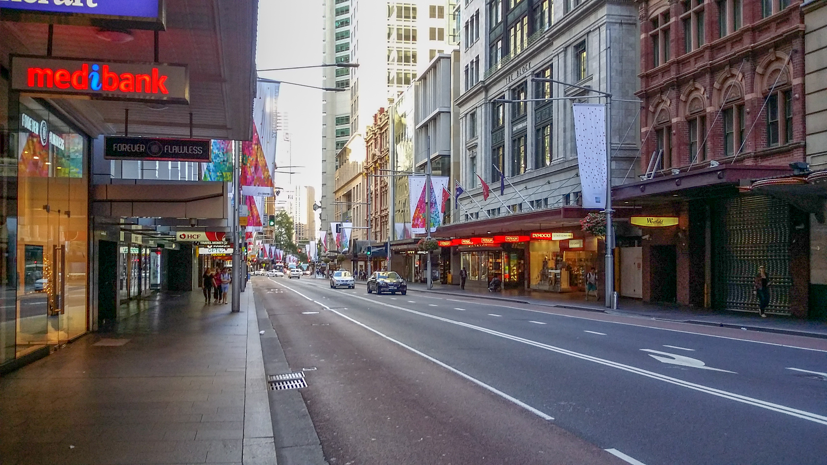 George St businesses suffer alone in compensation loss