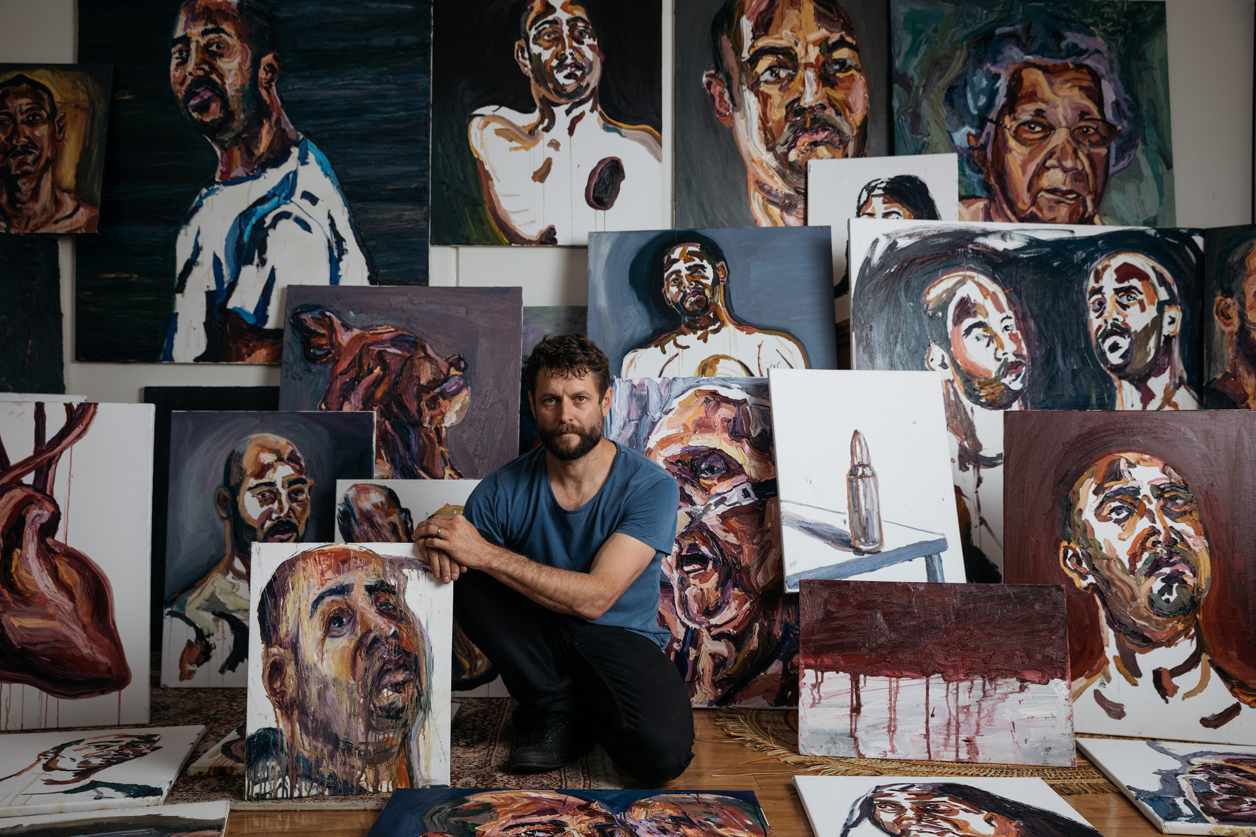 """Ben Quilty on Myuran Sukumaran and """"Another Day in Paradise"""""""