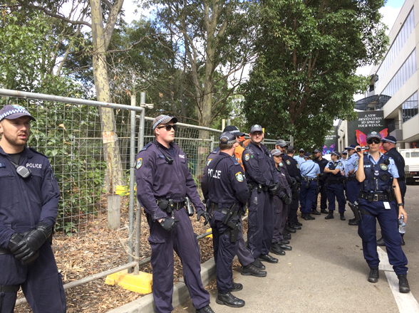 WestConnex protestors cop the full force of the law