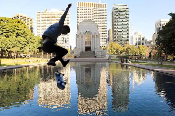 Skating on thin air: Council fines young rebels