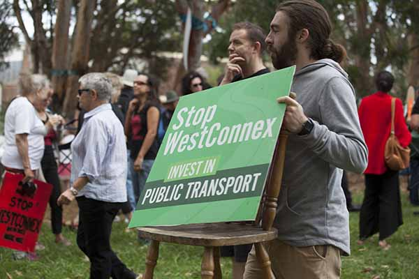 WestConnex pollution on the rise