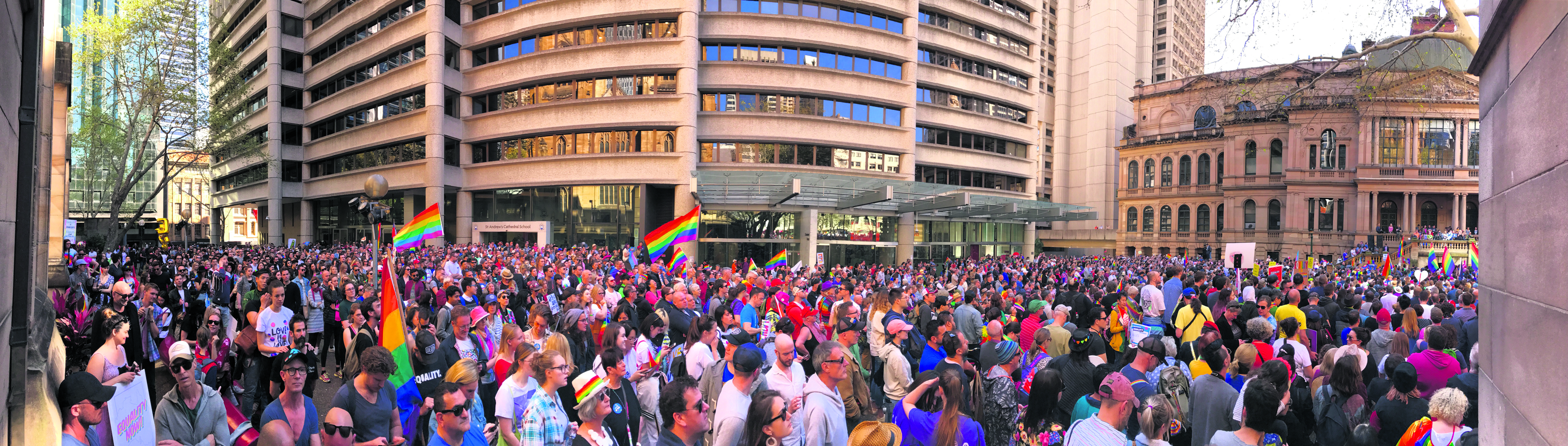 Sydney marches for equality