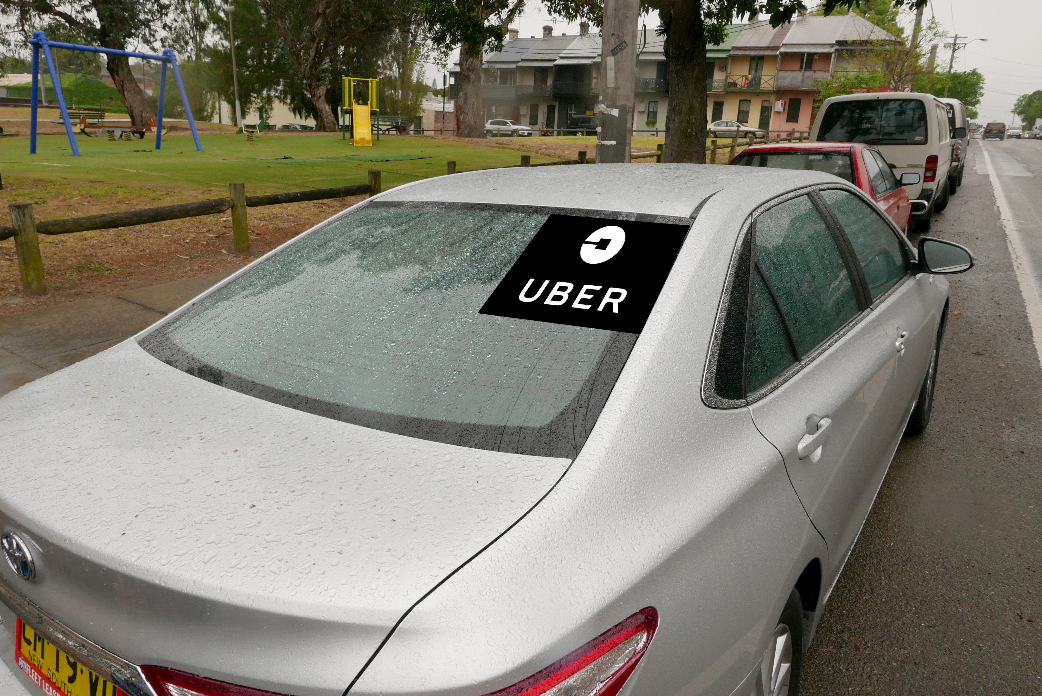 Uber drivers revved up