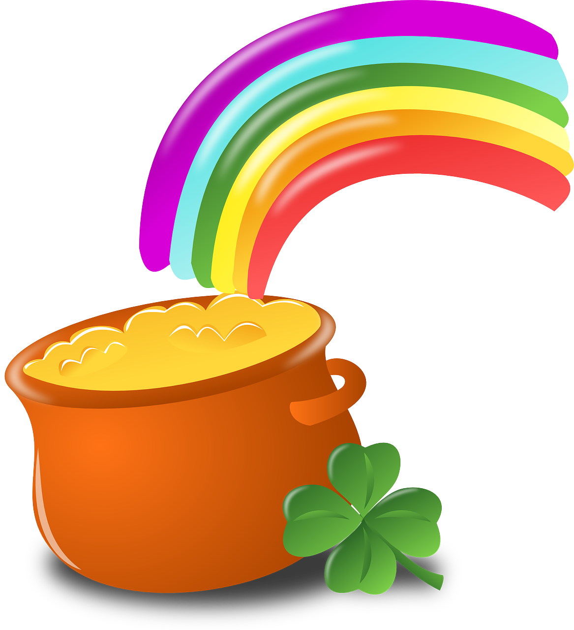 A crock at the end of the rainbow