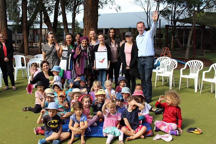 Childcare workers chuck a tanty
