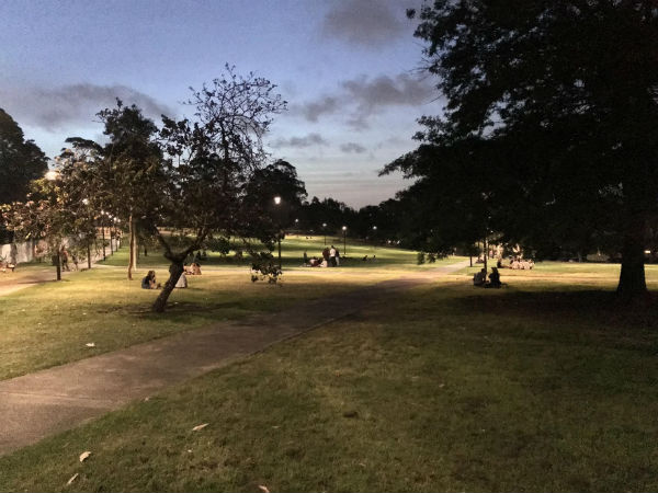 Newtown to park its late night problems