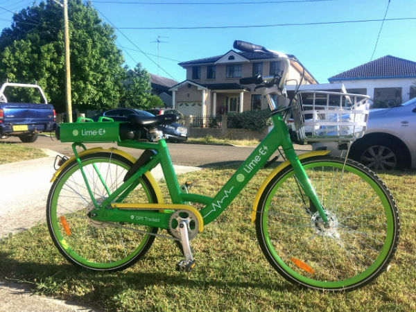Lime rolls in to the share bike market