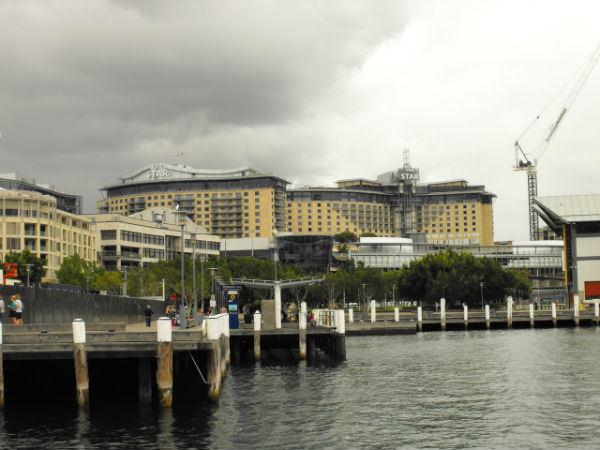 Pyrmont looks to the heavens