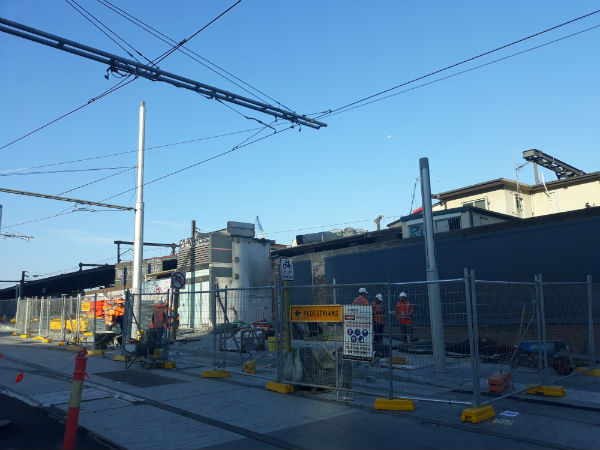 Light rail project off the rail