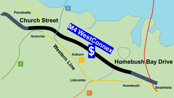 Upgrade dumped for WestConnex Tolls