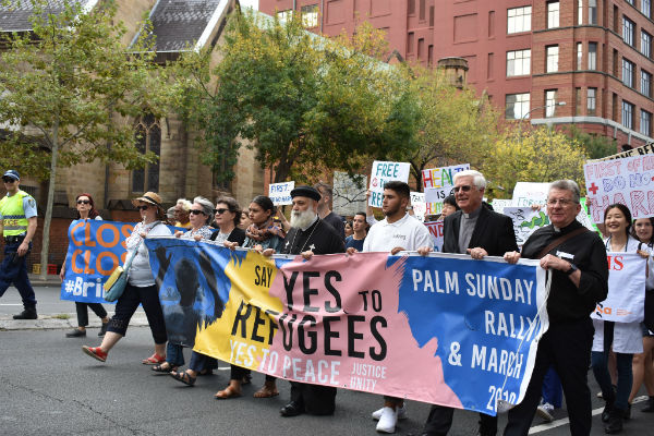Thousands march to #BringThemHere