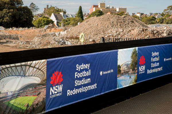 Lendlease lose stadium
