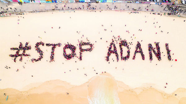 Mined out – east opposes Adani