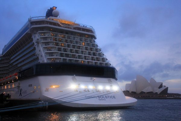 Four coronavirus cruise ships docked in Sydney
