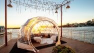 Best Harbour Experience with a View – Igloos on the Pier