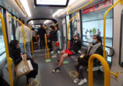 """Masks """"strongly recommended"""" on public transport"""