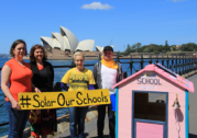 "School solar panels ""a no-brainer"" say climate conscious parents"