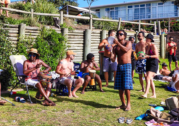 Drumming up a crowd at North Bondi