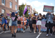 Taking to the street for transgender visibility