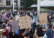 """Womens' March for Justice: Thousands say """"enough is enough"""""""