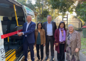 Opposition leader cuts ribbon on community bus service in the Inner West