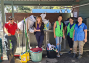 Balmain locals lend a hand to the Hawkesbury