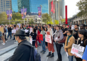 Asian-Australians call for an end to anti-Asian sentiment at Sydney vigil