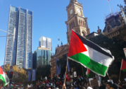 Thousands take to George Street in solidarity with Palestine