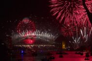 Back on: 9pm fireworks to go ahead after Clover Moore backflip