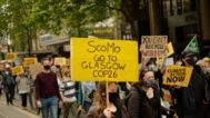 Student climate protesters take the fight online, some return to the streets